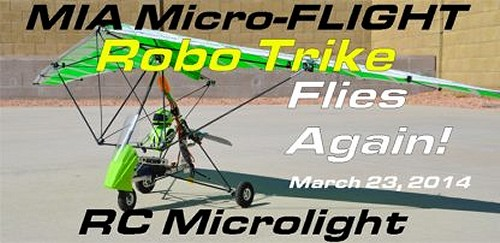 About Mia RC Microlights